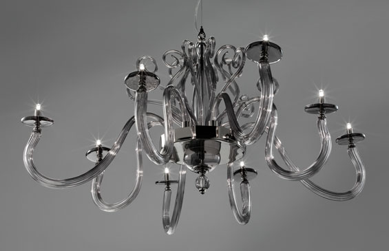 Euroluce - Yncanto lampadario L4+4