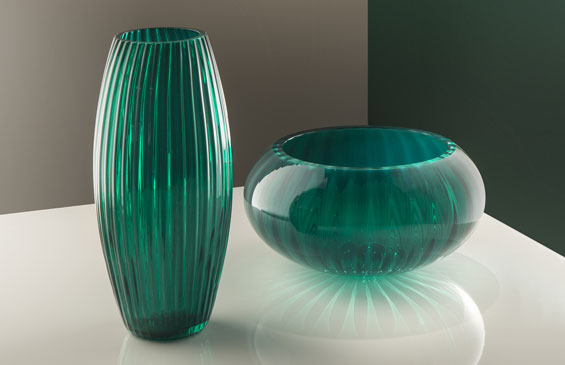 Euroluce - Yncanto vaso e centrotavola